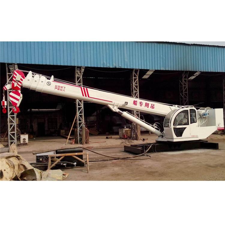 黄河风 船用吊机厂家价格 大型船用吊机 量大从优