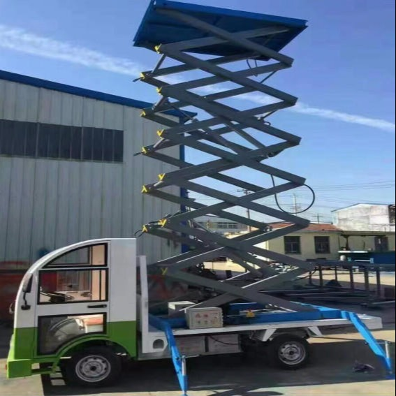 厂家直销新款车载式升降机 皮卡车固定式6至18米固定车载式升降机厂家