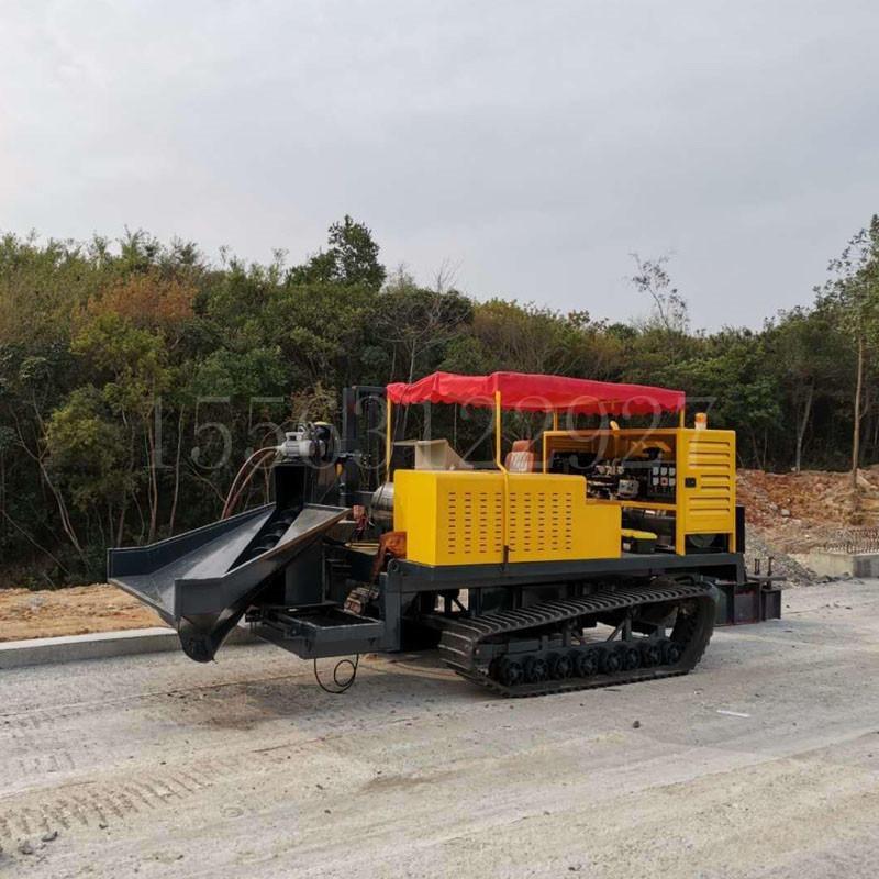 湖南長沙路邊石滑模機 路沿石成型機自動行走做1600米