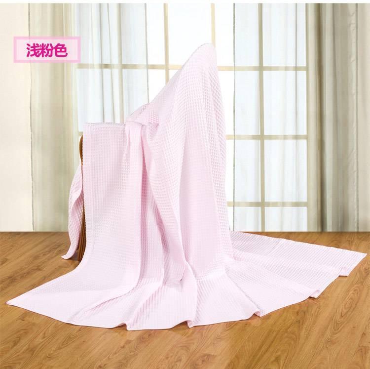 艺特佳家纺冰淇淋纹双人单人加厚全棉毛巾毯空调毯夏被毛毯特价示例图20