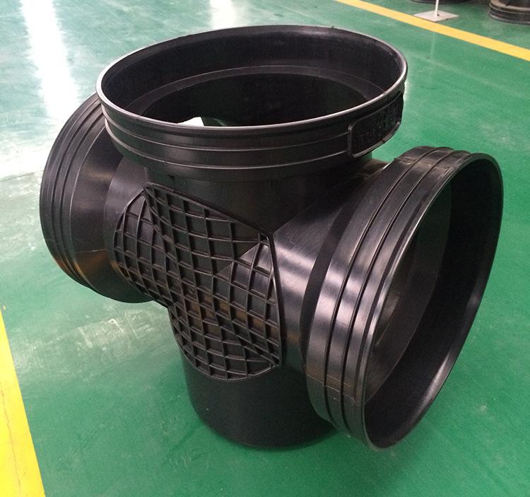 450*400流槽起始井 厂家直销|污水塑料检查井 批发示例图6
