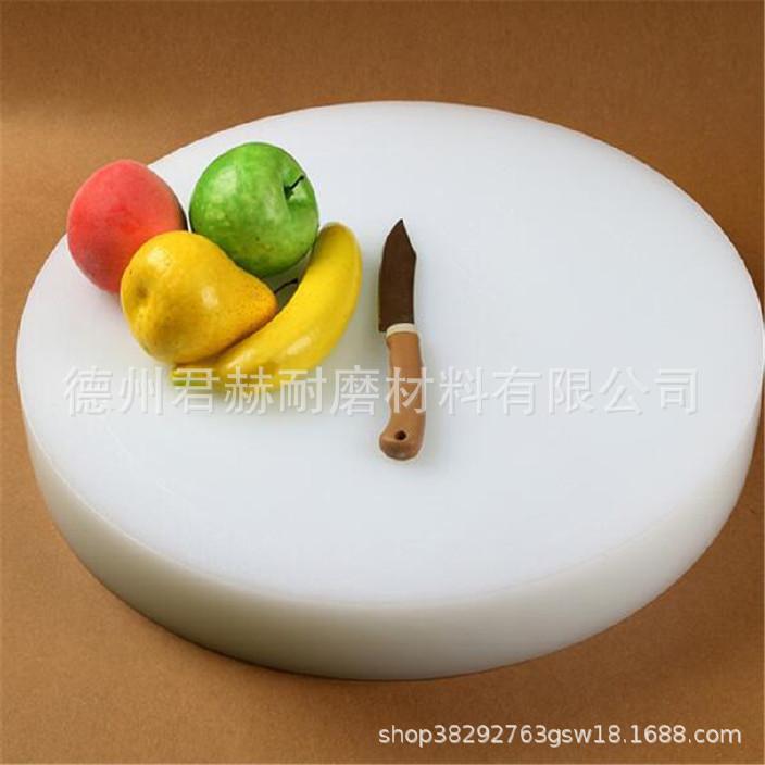 厨房案板垛肉板 无毒无味菜板不掉渣加厚菜墩 砧板可按尺寸定做示例图3