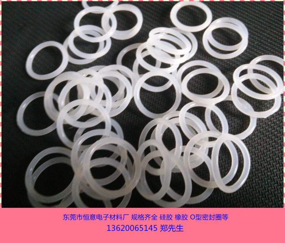廠家直銷 白色硅膠O型圈 食品級o型密封圈 半透明O型圈示例圖2
