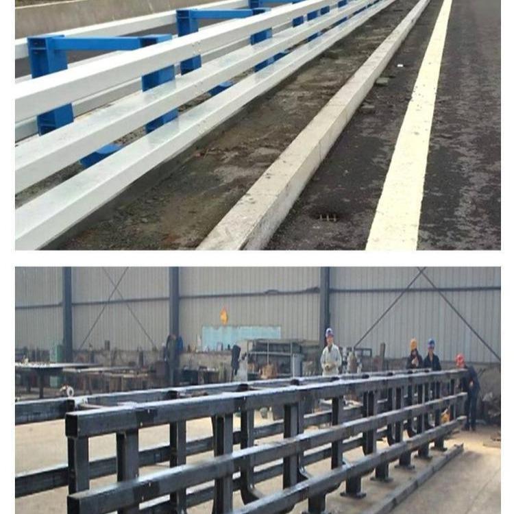 圓管鐵管噴塑護欄 鐵管碳鋼河道護欄 河道橋梁護欄來圖生產定做
