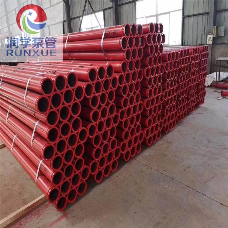 润学泵管厂家 原厂品质耐磨泵管 双层耐磨泵管2米耐磨泵管 泵管现货