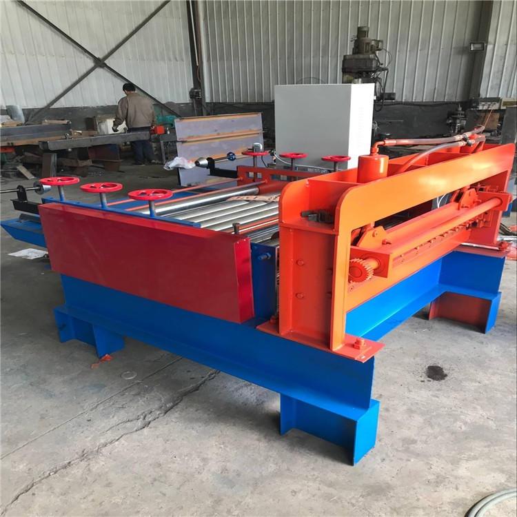 開平機 安平絲網用開平機 鍍鋅板用開平設備 德順安 源頭供貨商