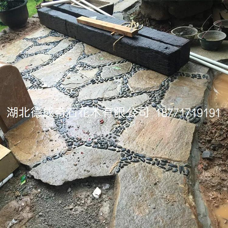 2018年汀步石景墙石批发庭院铺路石示例图12