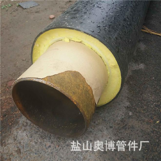厂家直销 保温钢管 预制直埋保温钢管 加工定做31 聚氨酯保温钢管示例图5