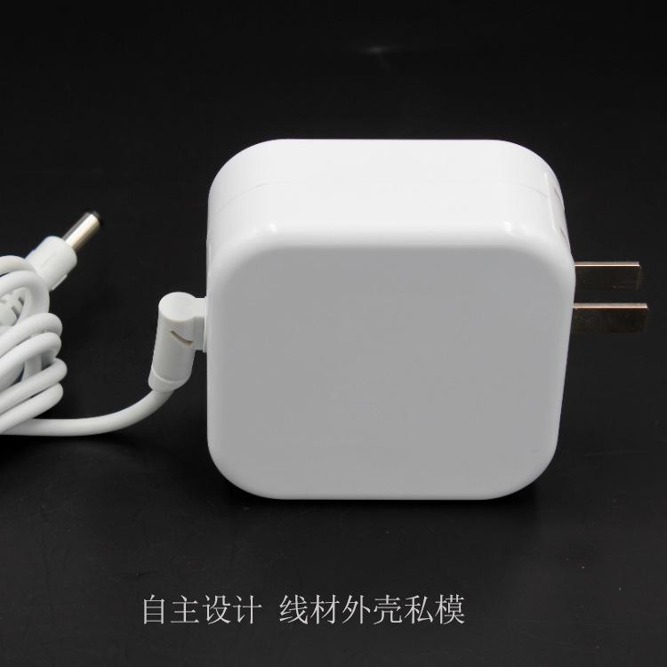 供应12v5a电源适配器 60W过3C认证白色充电器 12V60W插墙式适配器示例图4