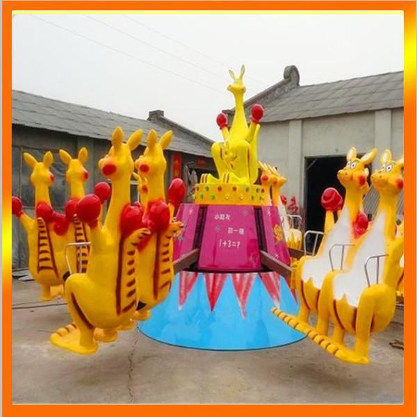 十一大洋现货供应8臂袋鼠跳 儿童游乐欢乐袋鼠袋鼠跳大洋供应商游艺设施厂家设备示例图7