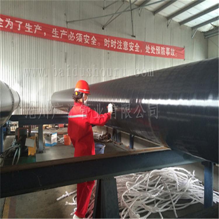 廠家供應 石油管道用三層聚乙烯防腐鋼管廠家 3PE防腐鋼管現貨