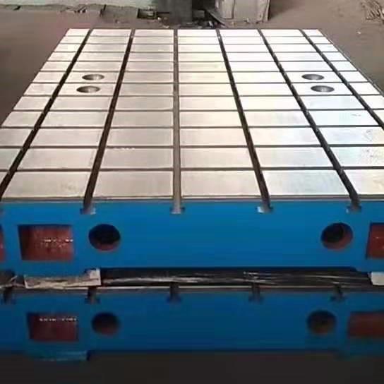 河北泊头量具制造商供应铸铁焊接平台 检验平台 装配工作台 量大优惠现货供应 -泊头亮健机械