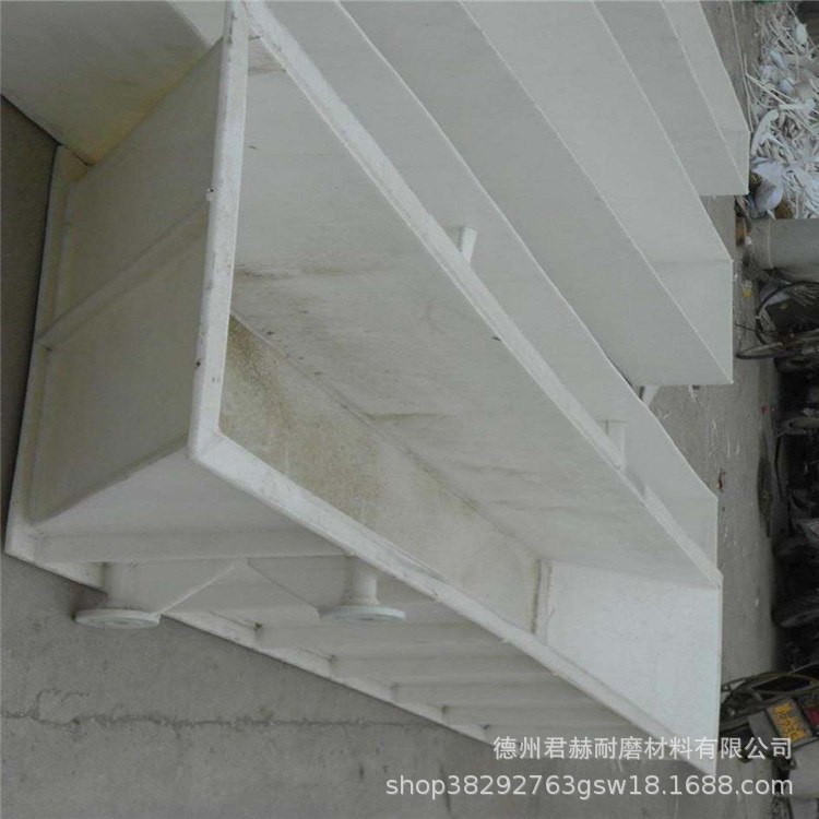 PP水箱加工订做 酸洗槽 耐酸碱易焊接水槽 龟箱鱼池聚丙烯板水箱示例图3