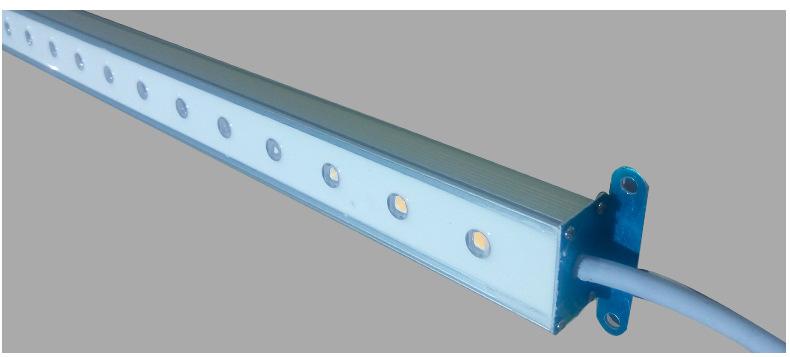 2819线条灯 LED小功率洗墙灯 七彩线条灯高亮 户外防水灯具线条灯示例图10