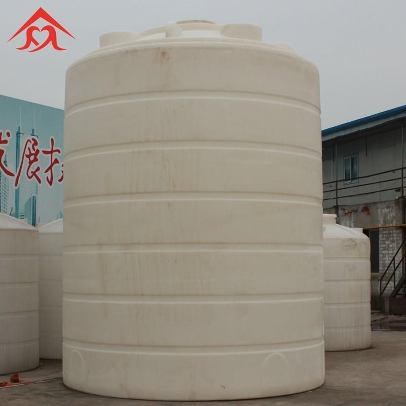 無錫塑料水塔廠家 錦尚來30立方耐酸堿減水劑儲罐尖底塑料儲罐二次用水凈水儲水罐 現貨