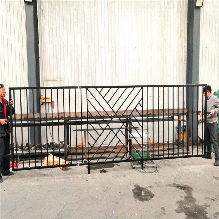 护栏厂家 小区锌钢护栏 小区别墅锌钢护栏 小区围墙