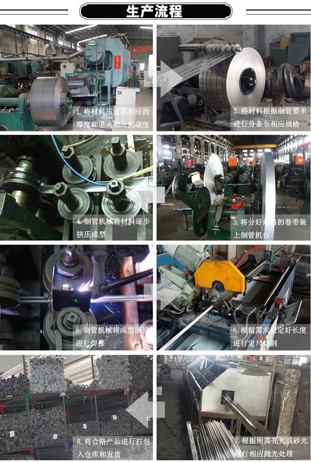 机械设备用  304不锈钢方管40*60*3.0厚壁拉丝 耐腐蚀矩形管示例图14
