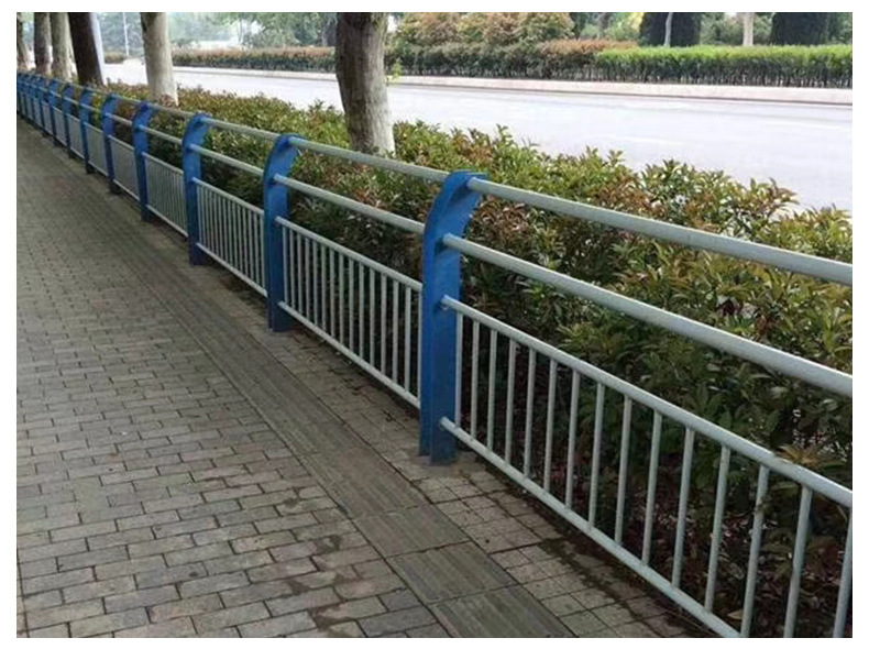 河道护栏 公路护栏 栏杆 高速护栏 河道景观护栏厂家立柱示例图6