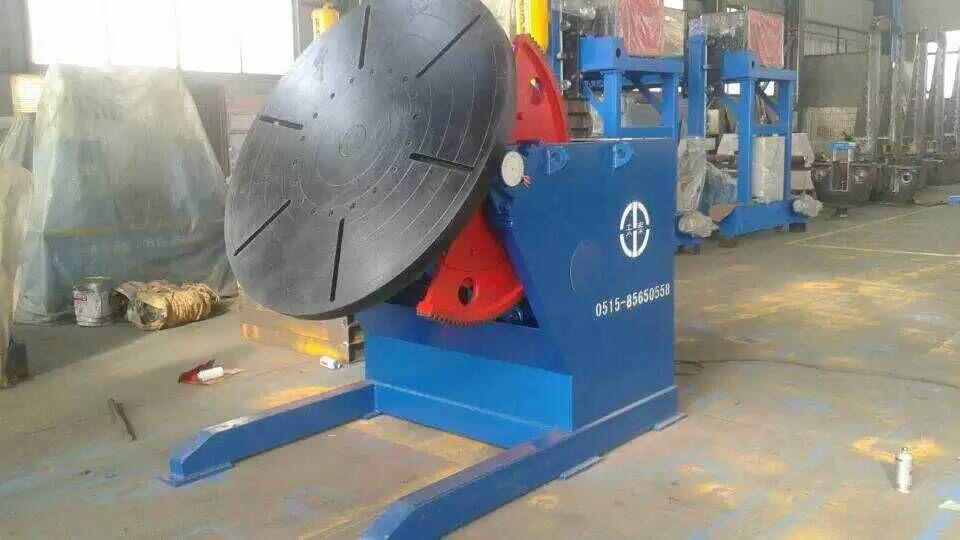 HB-10型 焊接变位机江苏厂家盐城皇泰按需定制特殊工装变位机示例图1