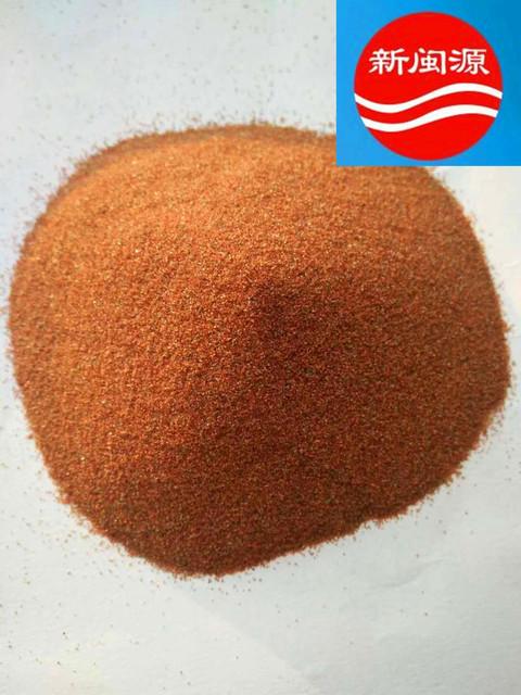 A级红色水刀砂,水切割不堵管红色石榴砂