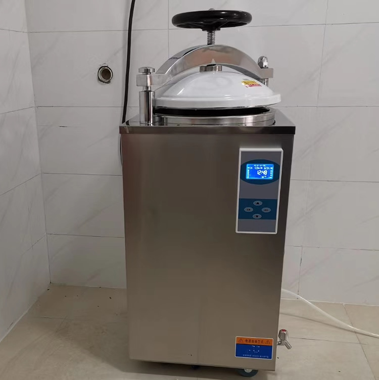 LS-100HD立式壓力蒸汽滅菌器 100升液晶顯示高壓滅菌器示例圖2