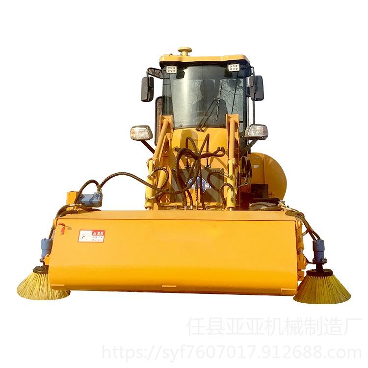 亞亞機械 清掃機 裝載機清掃機 滑移掃地機 國產山貓清掃車廠家