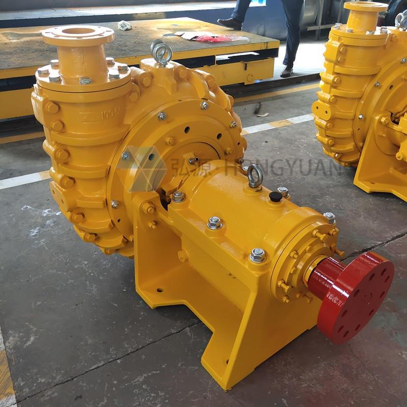 河北弘源 200ZJ-I-A75臥式礦用耐磨渣漿泵 柴油機船用砂礫泥漿泵 礦漿灰渣泵