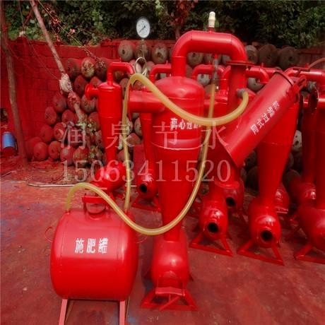 廠家出售過濾施肥器 網式過濾器 施肥罐 水肥一體化設備特價批發潤泉