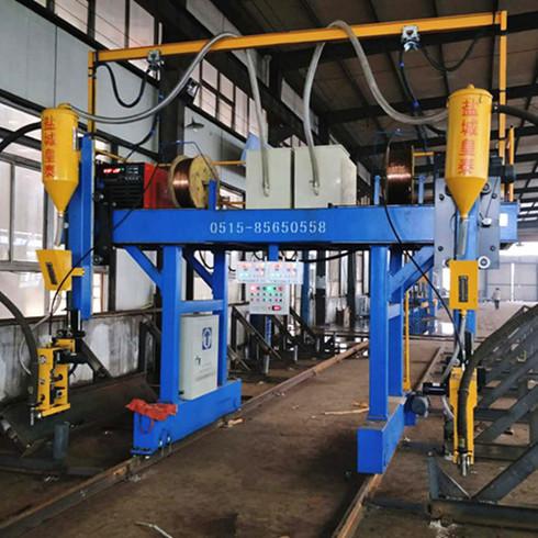 江苏钢结构焊接设备专业制造商 厂家直销钢结构拼焊矫一体机示例图4