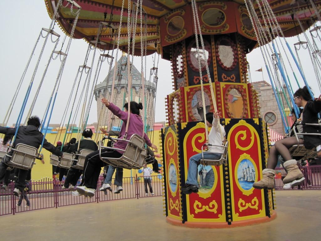 2020大洋飓风飞椅儿童游乐设备 公园旋转升降24座豪华飞椅游乐项目游艺设施厂家示例图14