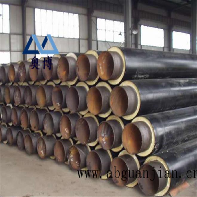 厂家直销 保温钢管 预制保温钢管 定做聚氨酯直埋式保温钢管示例图11