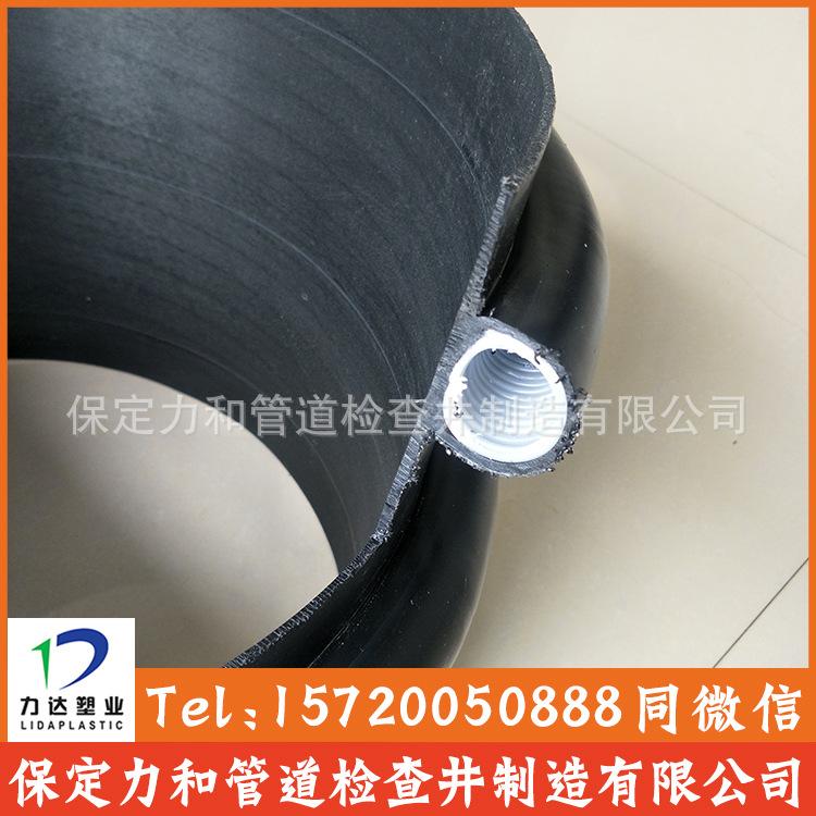 聚乙烯缠绕结构壁B型管 克拉管 100%全新料 市政排水专用示例图9