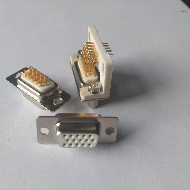 D SUB連接器  東普電子 15芯D型車針連接器  車針 端子鍍金  耐環境