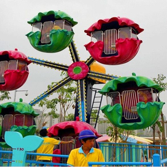 儿童游乐母子观览车 大型户外游乐旋转母子观览车 郑州大洋厂家