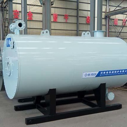 河南四通鍋爐燃油氣有機熱載體加熱鍋爐 ,60萬,80萬,100萬大卡等導熱油爐,型號齊全。