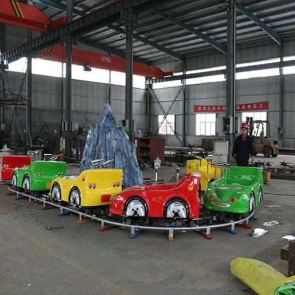 水陆战车儿童游乐设备 郑州大洋户外水上游乐设备轨道水陆战车