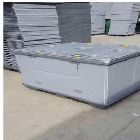 泉润来厂家直销PP中空围板箱 吹塑/注塑围板箱/可折叠围板箱