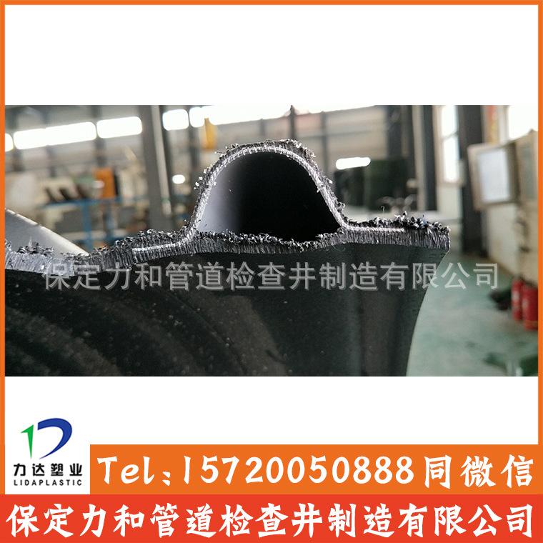 源头厂家实力生产 钢带管 聚乙烯螺旋波纹管 高环刚度示例图6