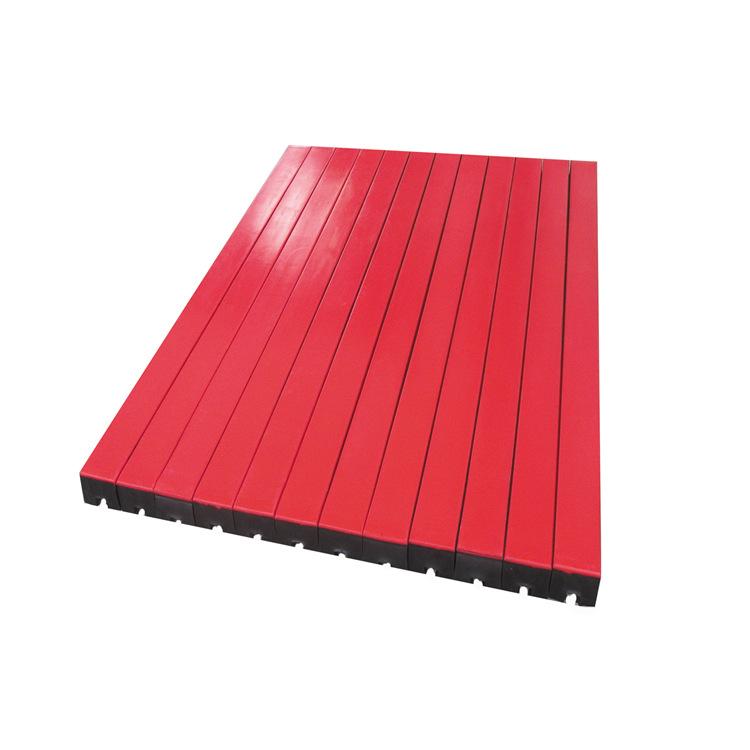 1500mm红色750万高分子量缓冲条,缓冲床用缓冲条示例图2