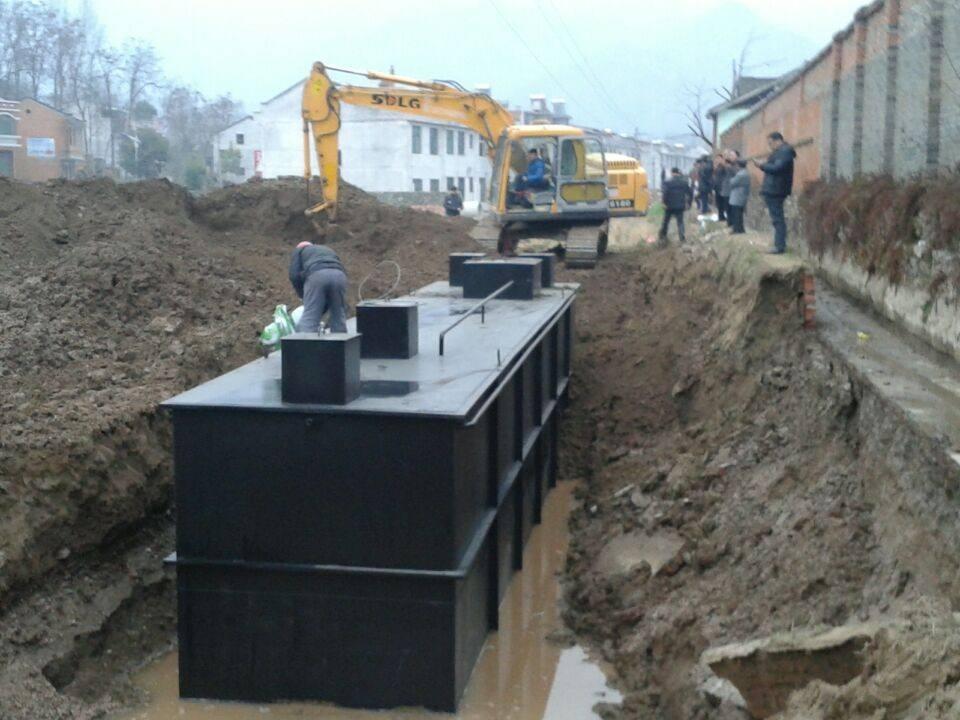 城鎮農村小區別墅污水處理設備一體式環保設備100%達標示例圖4