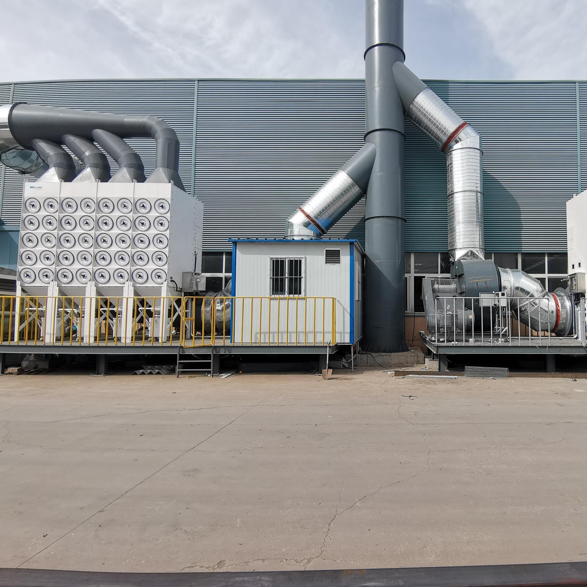 青島集中除塵設備  集中除塵配套設備   除塵設備廠家   集中除塵凈化器