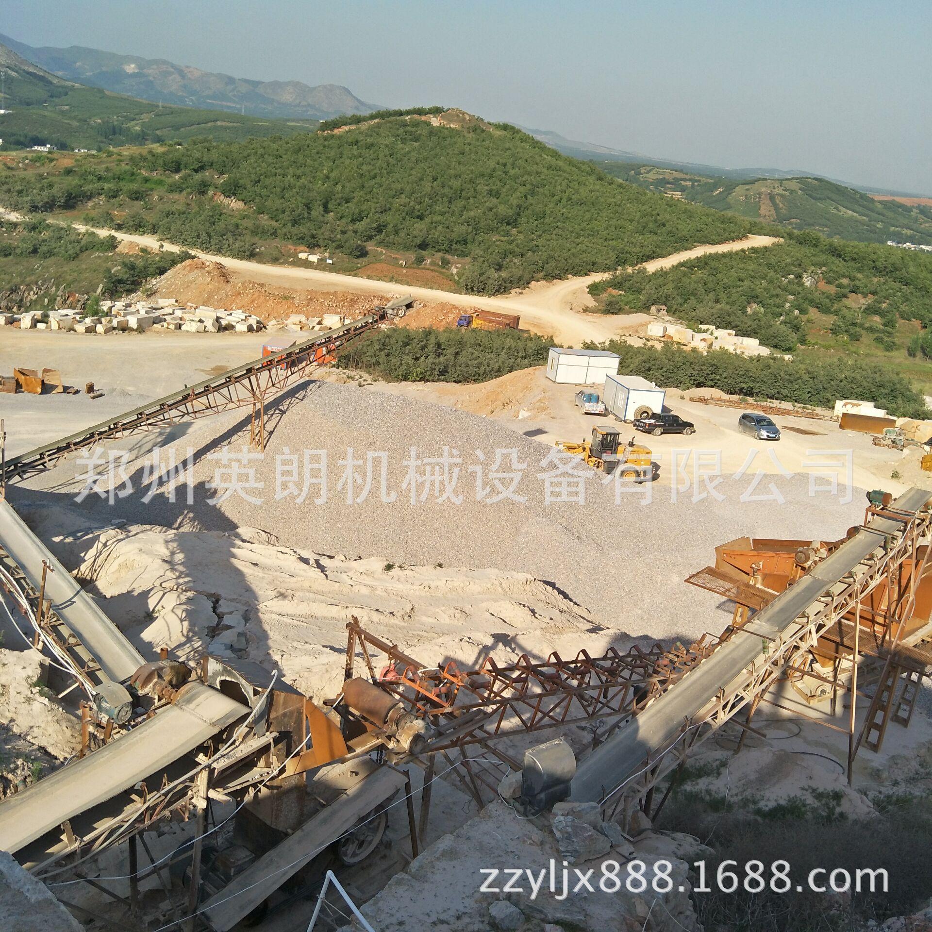 新型高效石料生产线 石料制砂生产线 花岗岩矿石破碎生产线报价示例图7