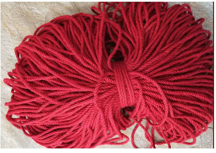 优势�u批发浅紫深红深棕褐四色麻绳彩色麻∞绳家纺装饰服饰饰品细麻绳示例图8
