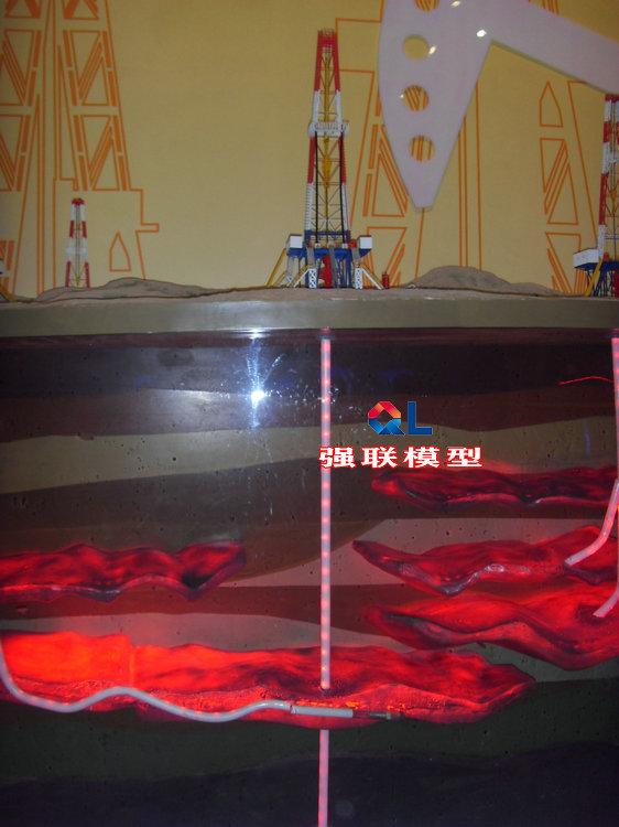 大慶油田油藏分布展覽掛板廠家直銷