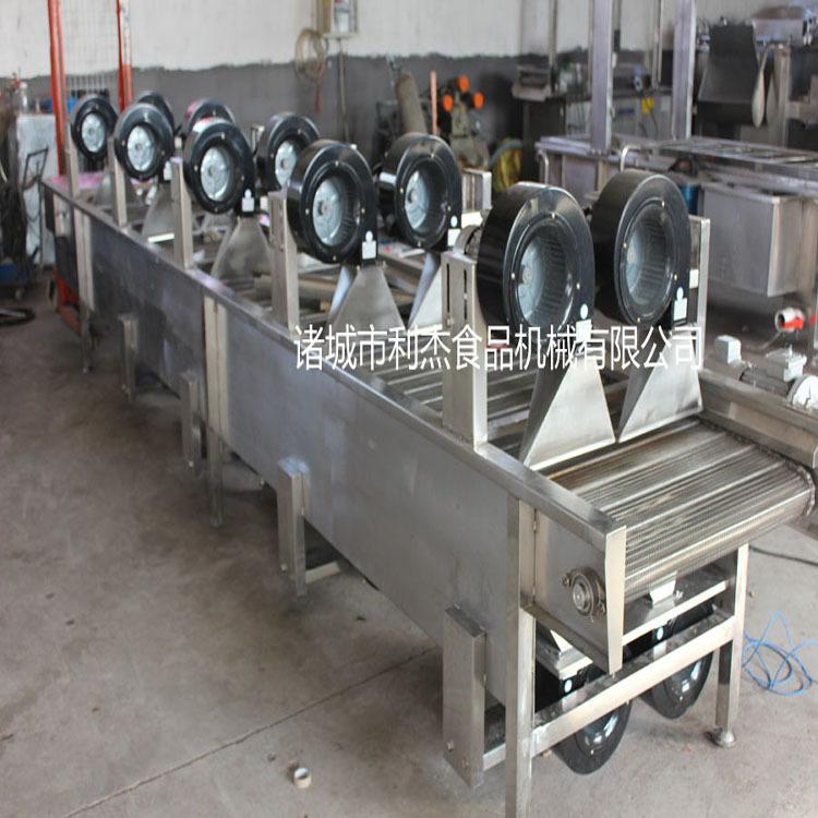 利杰LJ-4000风干机 强留风干机 风干线 果蔬加工风干线 软包装沥水风干机 全自动不锈钢常温翻转风干机 快速风干设备示例图3