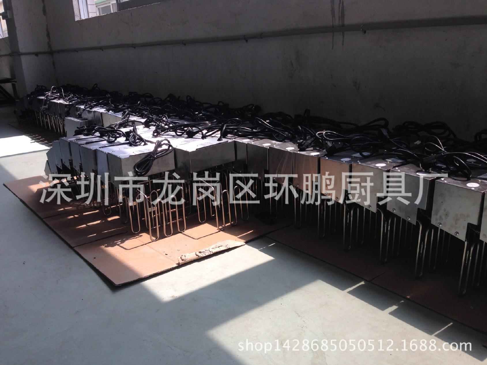 厂家直销不锈钢820电平扒炉煎饼炉加厚扒板双 4.2kw 炊事设备示例图55
