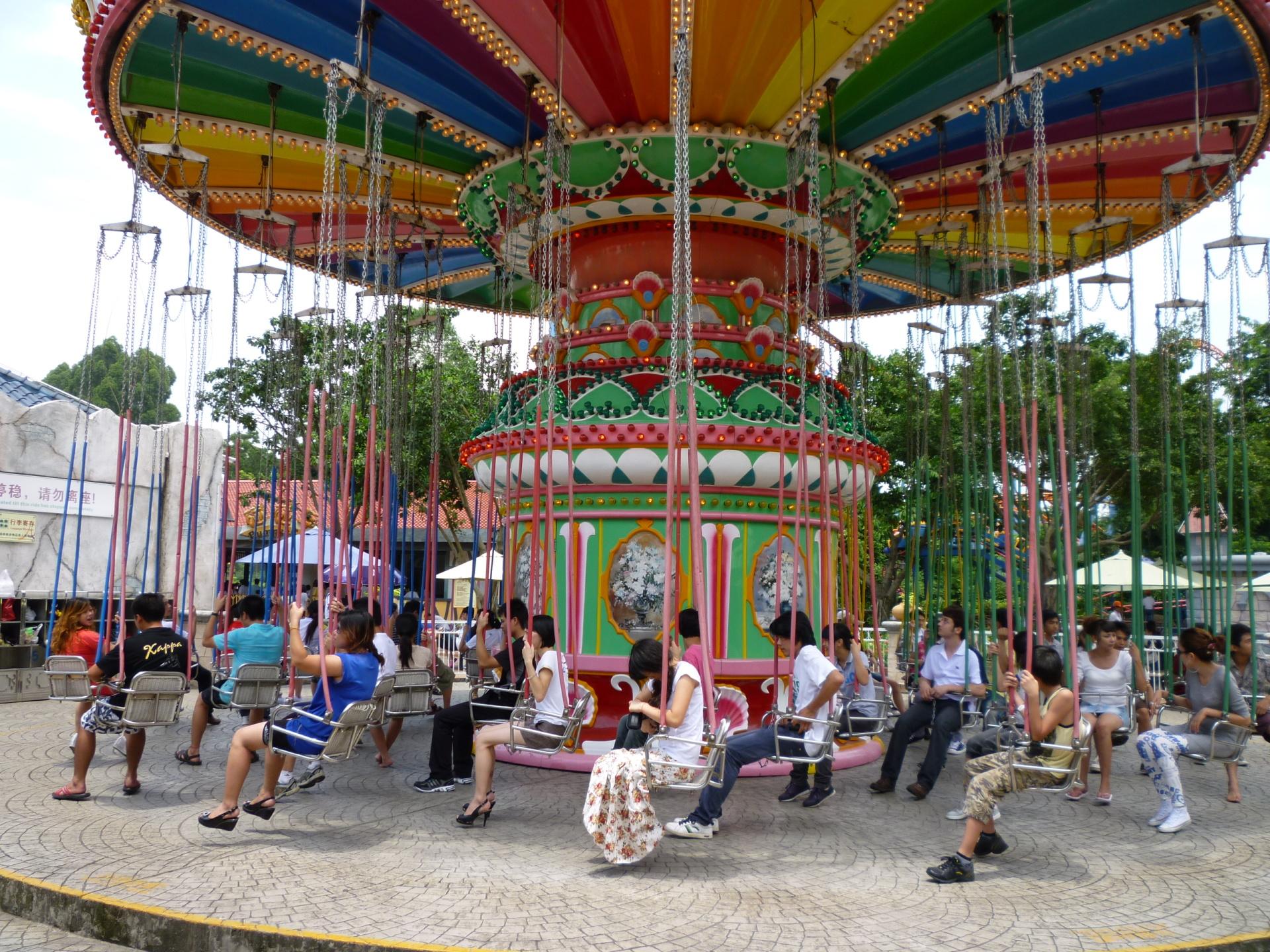 新品上市大型游乐设备飓风飞椅 郑州大洋升降摇头24座豪华飞椅示例图6