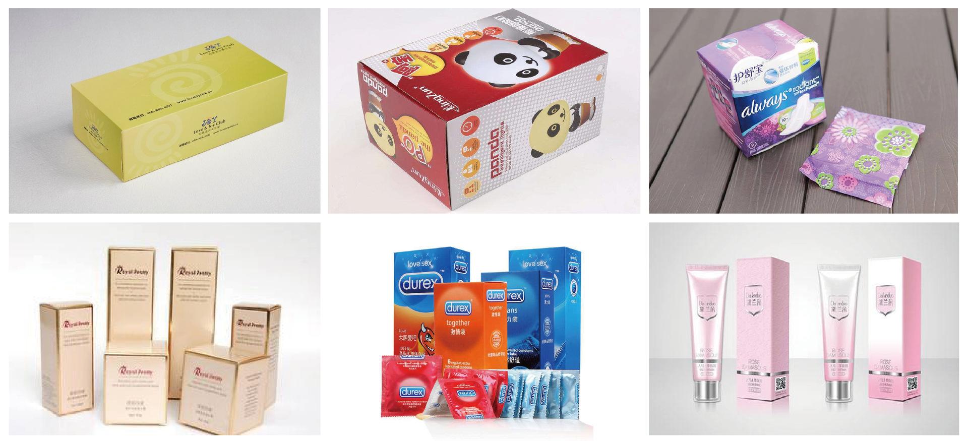 蛋卷自动装盒机 食品包装机械广州机械加工厂家喷胶封口热熔胶示例图137
