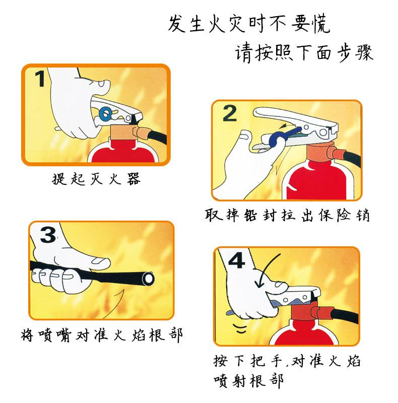 手提式水基型灭火器 不锈钢灭火器 水基型灭火器 手提式灭火器示例图8
