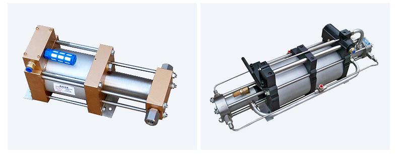 山东欣诺厂家销售工业气体增压泵 耐用保压好 小型气驱气体增压泵示例图15